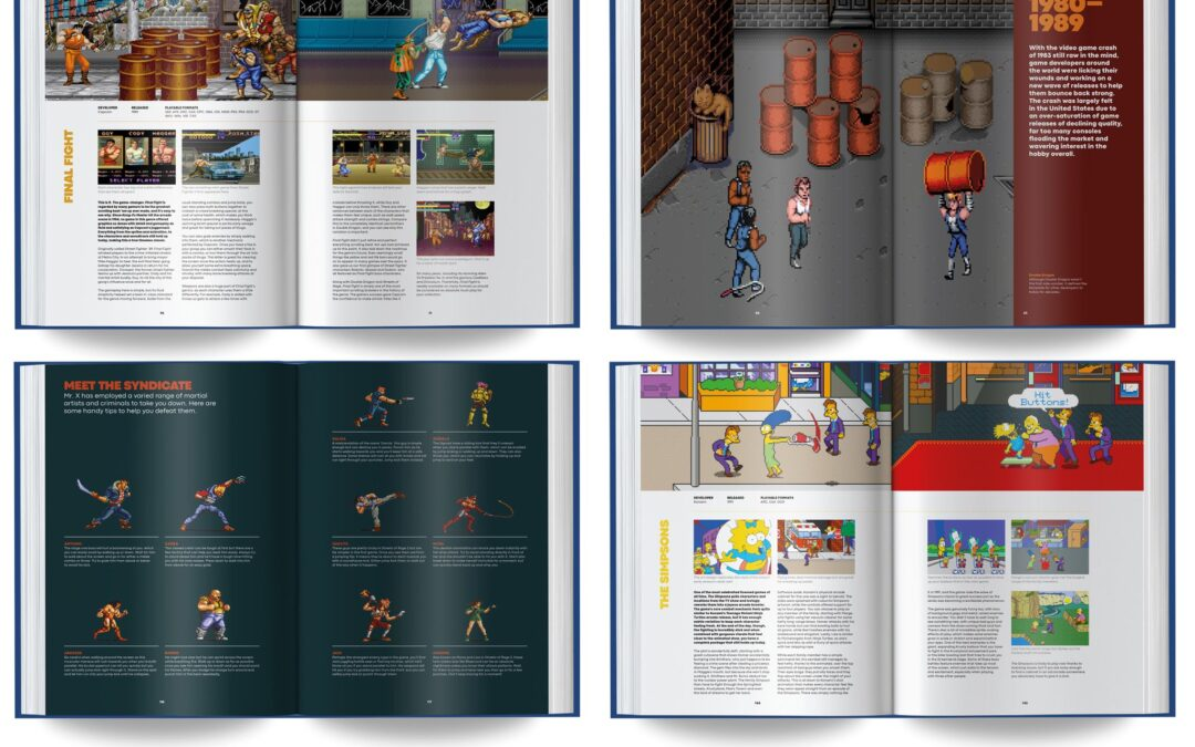 Go Straight: The Ultimate Guide to Side-Scrolling Beat 'em Ups, coming Feb 2022 from Bitmap Books
